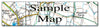 Ceramic Map Tiles - Personalised Ordnance Survey Explorer Map - Love Maps On... - 19
