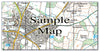 Ceramic Map Tiles - Personalised Ordnance Survey Explorer Map - Love Maps On... - 20