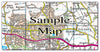 Ceramic Map Tiles - Personalised Ordnance Survey Landranger Map - Love Maps On... - 20