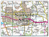 Ceramic Map Tiles - Personalised Ordnance Survey Landranger Map - Love Maps On... - 21