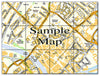 Ceramic Map Tiles - Personalised Ordnance Survey Street Map - Love Maps On... - 21