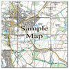 Ceramic Map Tiles - Personalised Ordnance Survey Explorer Map - Love Maps On... - 22