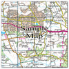Ceramic Map Tiles - Personalised Ordnance Survey Landranger Map - Love Maps On... - 22