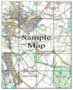 Ceramic Map Tiles - Personalised Ordnance Survey Explorer Map - Love Maps On... - 47