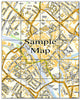 Ceramic Map Tiles - Personalised Ordnance Survey Street Map - Love Maps On... - 47