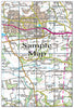 Ceramic Map Tiles - Personalised Ordnance Survey Landranger Map - Love Maps On... - 24