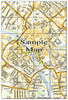 Ceramic Map Tiles - Personalised Ordnance Survey Street Map - Love Maps On... - 24