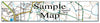 Ceramic Map Tiles - Personalised Ordnance Survey Explorer Map - Love Maps On... - 26