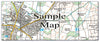 Ceramic Map Tiles - Personalised Ordnance Survey Explorer Map - Love Maps On... - 27