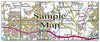 Ceramic Map Tiles - Personalised Ordnance Survey Landranger Map - Love Maps On... - 27