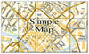 Ceramic Map Tiles - Personalised Ordnance Survey Street Map - Love Maps On... - 28