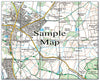 Ceramic Map Tiles - Personalised Ordnance Survey Explorer Map - Love Maps On... - 29