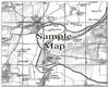 Ceramic Map Tiles - Personalised Vintage Ordnance Survey 1805-1874 (Old Series) - Love Maps On... - 23