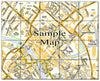 Ceramic Map Tiles - Personalised Ordnance Survey Street Map - Love Maps On... - 29