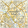 Ceramic Map Tiles - Personalised Ordnance Survey Street Map - Love Maps On... - 30