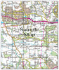 Ceramic Map Tiles - Personalised Ordnance Survey Landranger Map - Love Maps On... - 31