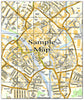 Ceramic Map Tiles - Personalised Ordnance Survey Street Map - Love Maps On... - 31