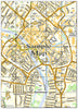Ceramic Map Tiles - Personalised Ordnance Survey Street Map - Love Maps On... - 32