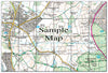 Ceramic Map Tiles - Personalised Ordnance Survey Explorer Map - Love Maps On... - 36