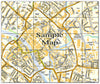 Ceramic Map Tiles - Personalised Ordnance Survey Street Map - Love Maps On... - 37