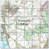 Ceramic Map Tiles - Personalised Ordnance Survey Explorer Map - Love Maps On... - 38