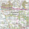 Ceramic Map Tiles - Personalised Ordnance Survey Landranger Map - Love Maps On... - 38
