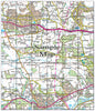 Ceramic Map Tiles - Personalised Ordnance Survey Landranger Map - Love Maps On... - 39