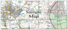 Ceramic Map Tiles - Personalised Ordnance Survey Explorer Map - Love Maps On... - 42