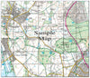 Ceramic Map Tiles - Personalised Ordnance Survey Explorer Map - Love Maps On... - 45