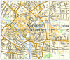 Ceramic Map Tiles - Personalised Ordnance Survey Street Map - Love Maps On... - 45