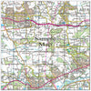 Ceramic Map Tiles - Personalised Ordnance Survey Landranger Map - Love Maps On... - 46