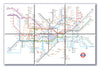 Ceramic Map Tiles - London Underground Map - Love Maps On... - 3