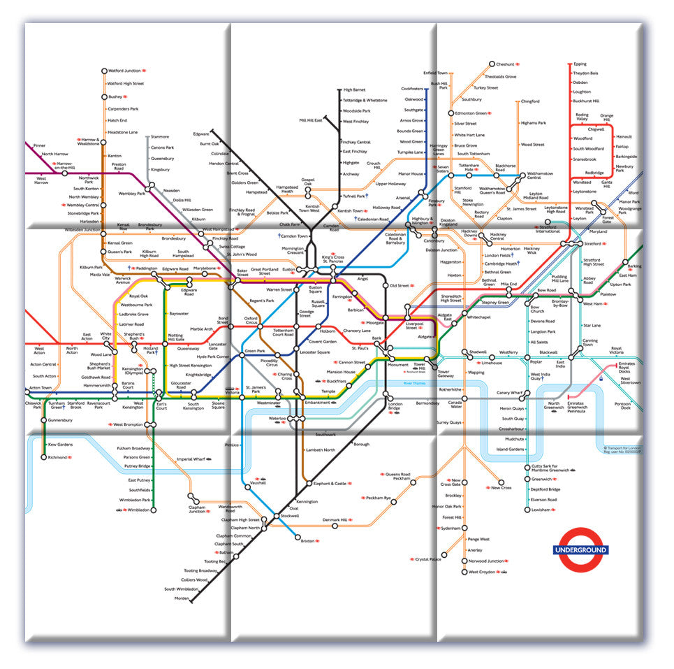 ceramic map tiles london underground map love maps on 4