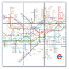 Ceramic Map Tiles - London Underground Map - Love Maps On... - 4