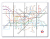 Ceramic Map Tiles - London Underground Map - Love Maps On... - 6