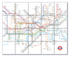 Ceramic Map Tiles - London Underground Map - Love Maps On... - 9