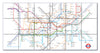 Ceramic Map Tiles - London Underground Map - Love Maps On... - 11