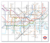 Ceramic Map Tiles - London Underground Map - Love Maps On... - 17