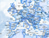 Map Wallpaper - Political World Map - Blue - Love Maps On... - 3