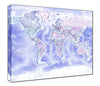 Map Canvas - Political World Map - Classic - Love Maps On... - 2