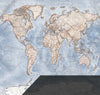 Map Wallpaper - Political World Map - Discovery Wallpapers and Murals- Love Maps On...