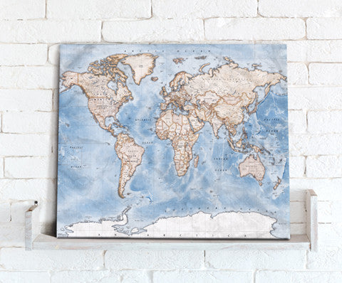 Map Canvas - Political World Map - Discovery - Love Maps On...