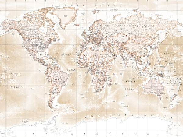 Polictical World Map.Map Wallpaper Political World Map Antique From Love Maps On