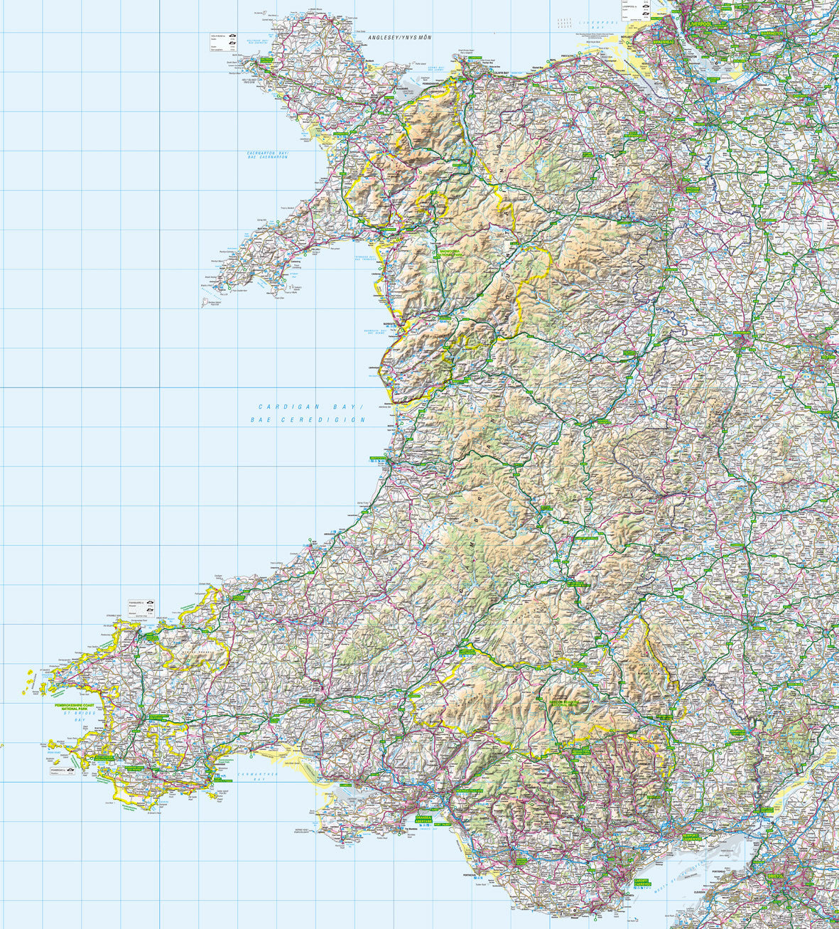 Map Wallpaper Wales from Love Maps On