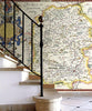 Map Wallpaper - Vintage County Map - Wiltshire - Love Maps On... - 3