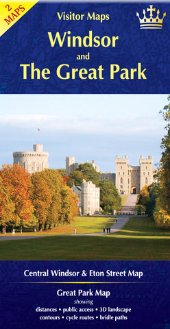 Visitor Maps: Windsor and The Great Park 2018