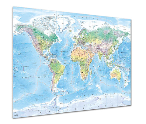 Map Poster - Ultimate World Map