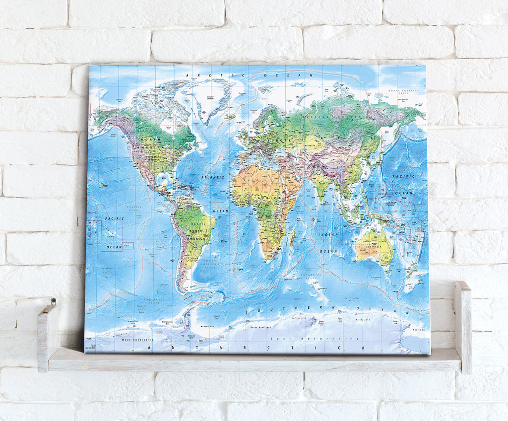Map Canvas - Ultimate World Map - Love Maps On...