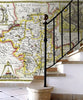 Map Wallpaper - Vintage County Map - Worcestershire - Love Maps On... - 2