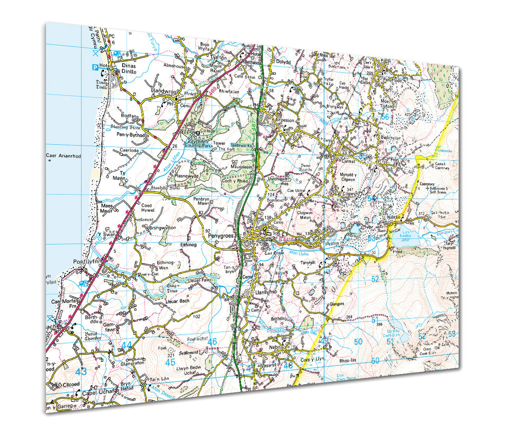 Map Poster - Custom Ordnance Survey Landranger Map - Love Maps On... - 1